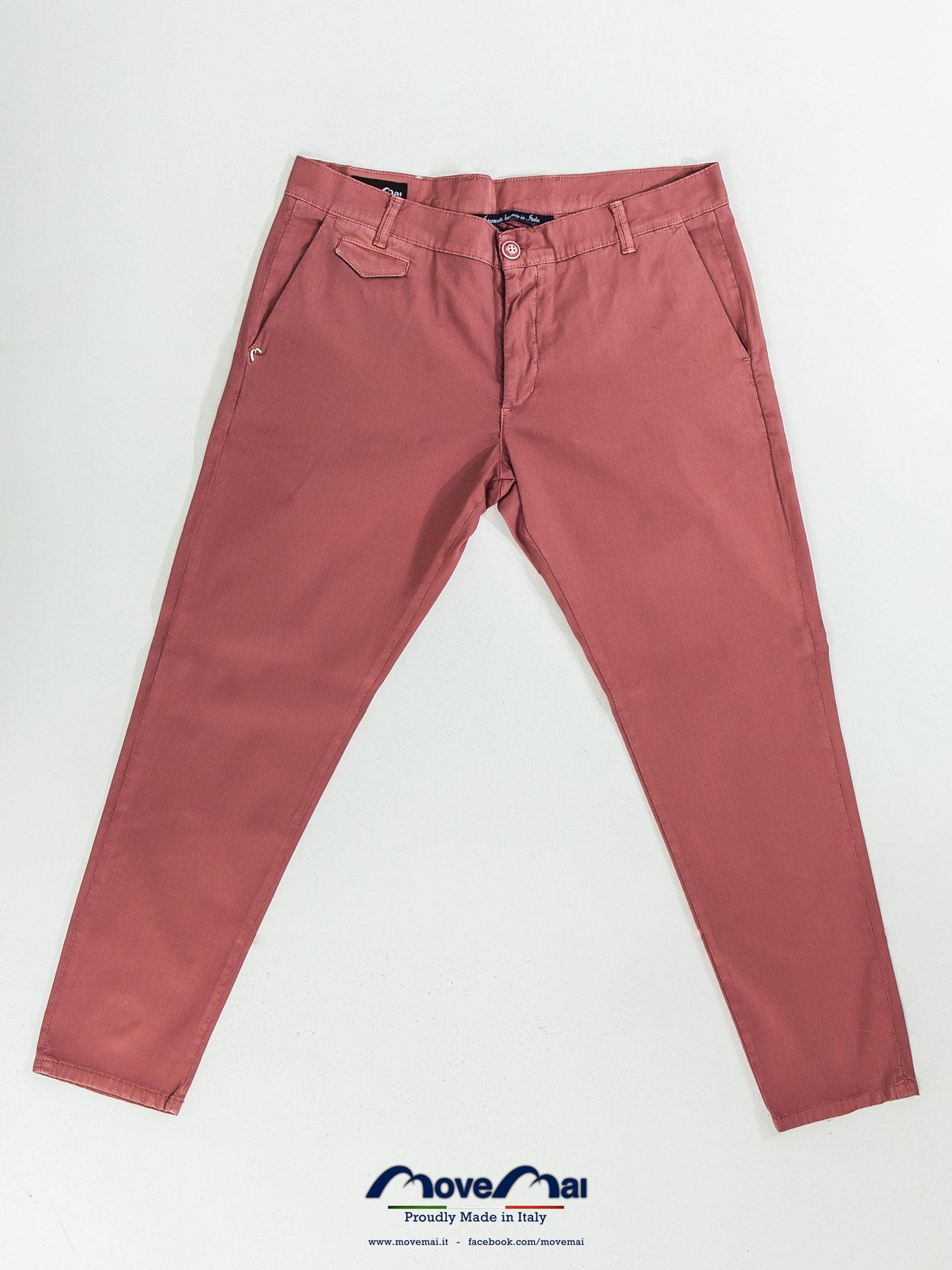 Movemai uomo | Pantalone da uomo vita bassa - cotone Piquet millerighe | Spring Summer 2013