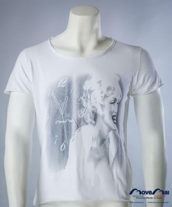 Movemai uomo   T-Shirt da uomo cotone - Taglio Vivo - Mod. Marylin  Spring Summer 2013